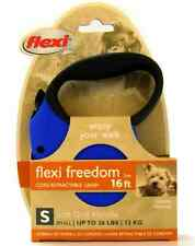 Flexi Freedom Cord Retractable Dog Leash small 16ft for up to 26 lbs