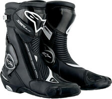 ALPINESTARS SMX Plus Road/Track Motorcycle Boots (Black) Choose Size