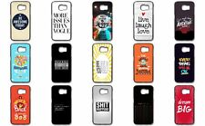 Famous Quotes Sayings Phrase Happy Love Vogue Silicone Case Cover Samsung Galaxy