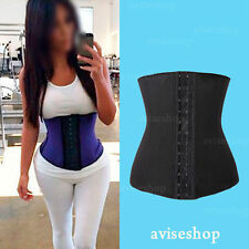 Underbust Corset Waist Cincher Trainer Tummy Girdle  Sport Body Shaper reduction