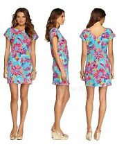 $138 New Lilly Pulitzer Trippin and Sippin ANASTASIA Terry Dress Small S RARE!