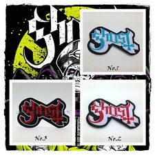 New Ghost Sew Iron On Patch Embroidered Rock Band Music Heavy Metal Logo Badge