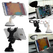 Universal 360°Car Windshield Mount Holder For iPhone 6 PLUS 5 5S Note 4 GPS