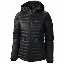 New Columbia Women Winter plus size 1X - 2X - 3X jacket Coat Black Ski