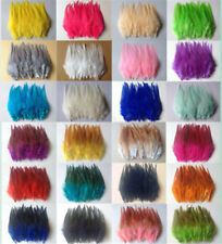 Wholesale 50/100pcs beautiful rooster tail feathers 10-15cm/4-6inches 27 Colors