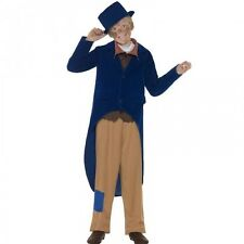 Boys Dickensian Victorian Dodger Fancy Dress Costume Kids Book Day Week Outfit