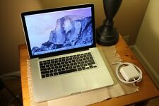 Apple Macbook Pro 15.4'' Quad-Core i7 2.0GHZ 4GB 500GB HD 2011 Great Deal!