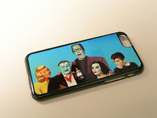 The Munsters Family Fits iphone 4 4s 5c 5 5s 6 mobile phone case