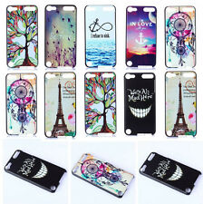 Vogue Design Slim PC Shell Back Hard Cover Case For iPod Touch 5 5th Gen