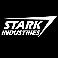 Stark Industries Logo Version 2 Marvel Iron Man Die Cut High Quality Vinyl Decal