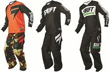 2016 SHIFT / Fox Mens ATV Offroad Recon Jersey & OTB Over The Boot Pants Combo