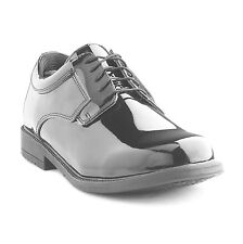 Young Men's, Kids School Band Uniform Dress Shoes Patent Leather Gloss Black