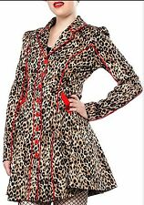 NEW Sourpuss FancyPants Red or Black RockABilly Jacket Coat PinUp Vintage 50s