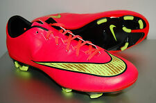 Nike Mercurial Veloce II FG Soccer Shoes, 651618-690, Hyper Punch/Gold, US Sizes