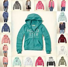 Hollister by Abercrombie GIRLS Hoodie Size XS S M L NWT pink RED gray blue NEW