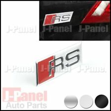 RS METAL BADGE EMBLEM A3 A4 A5 A6 A7 A8 S4 S6 Q5 Q7 RS3 RS4 RS5 RS6 TT 3 COLORS