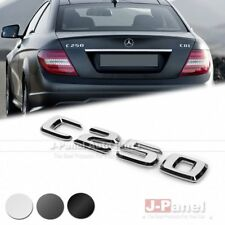 C250 REAR BOOT TRUNK LETTER EMBLEM BADGE for MERCEDES BENZ C CLASS W202 W204 AMG