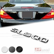 SL500 REAR BOOT LETTER EMBLEM BADGE for MERCEDES BENZ SL CLASS R230 R231 3 COLOR