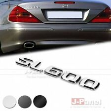 SL600 REAR TRUNK LETTER EMBLEM BADGE STICKER for MERCEDES BENZ SL CLASS R230 CAR