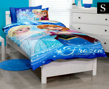 DISNEY FROZEN OFFICIAL KIDS CHILDRENS SINGLE QUILT COVER PILLOWCASE DOONA ROYAL
