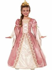 Victorian Rose Halloween Renaissance Costume for Kids