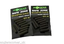 Korda Safe Zone Helicopter Sleeve / Heli Rubber / Green / Brown