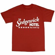 The Sedgewick Hotel T-Shirt 100% Cotton Ghostbusters Inspired Bill Murray