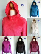 NEW The North Face Mossbud Hoodie Jacket Soft Soft Fleece Top Women XS S M L XL