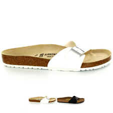 Unisex Adults Birkenstock Madrid Birko-Flor Mules Flat Summer Sandals All Sizes
