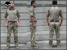 EMERSON Tactical Custom Combat Uniform Shirt & Pants Suit Set Devgru Multicam