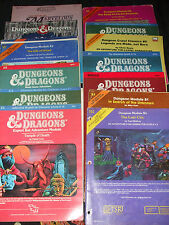 DUNGEONS and dragons modules