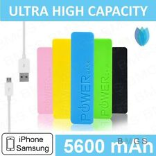 iPhone 6/5 SAMSUNG POWER BANK PORTABLE BATTERY USB CABLE EXTERNAL CHARGER NOKIA