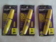 Maybelline The Colossal Volum'Express Mascara 230 Glam, 231 Black, 232 Brown