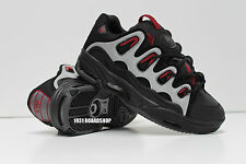 New in Box OSIRIS MEN'S D3 2001 Black/Charcoal/Red Skate Shoes