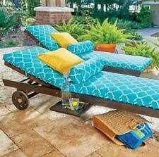 SINGLE EUCALYPTUS CHAISE LOUNGE CHAIR Outdoor Deck Patio Pool Furniture LOUNGER