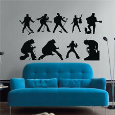Vinyl Art Wall Stickers Band Wall Decals Home Decor Removable DIY Musical Love