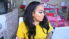 100 Human Hair Body Wave Lace Front Wig Women's Glueless Brazilian Remy Hair Wig