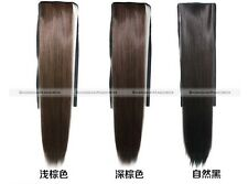 Clip In Ponytail Hair Extension Ponytail Hair Piece Straight Wavy Popular