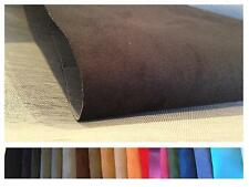 SUPER SUEDE - FAUX SUEDE - UPHOLSTERY BACKED FABRIC - CAR - BOAT  * SAMPLE