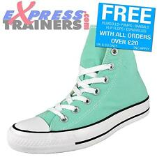 Converse Womens Junior All Star CT Hi Top Canvas Trainers Peppermint *AUTHENTIC*