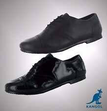 Girls Branded Kangol School Skipton Lace Up Formal Casual Shoes Size 3 4 5 5.5