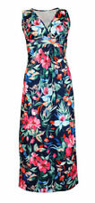 Ladies Sexy Vintage Summer Floral Beach Long Maxi Dress