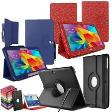 """Sottile Pelle PU Smart FLIP CASE COVER & STAND SAMSUNG Galaxy Tab 4 10,1 """"SM-T530"""