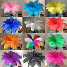 Wholesale! 10/50/100pcs Naturally OSTRICH FEATHERS 6-24 inches/15-60cm wedding