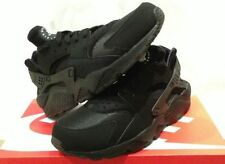 "NIKE AIR HUARACHE LE 2015 ""TRIPLE BLACK"" UK 5 6 7 8 9 10 11 12 OG LIMITED CREP"