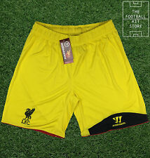 Liverpool Goalkeeper Shorts - Official Warrior Football Shorts- Mens - All Sizes