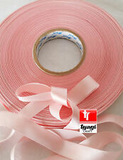 25mm SATIN Ribbon Favour Crafts Gift wrapping Wedding Party Decoration 50 meter