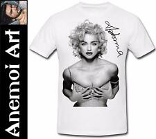 T412 Signed Madonna autograph signature t shirt tee t-shirt Concert Ticket