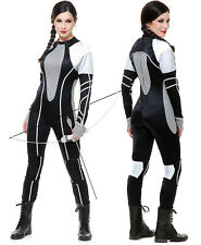 District Arena Katniss Hunger Games Catching Fire Teen Adult Costume Jumpsuit