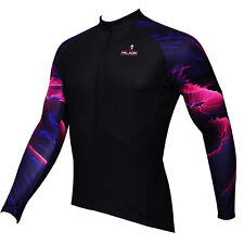 Paladin Long Sleeve Men's Cycling Jerseys Gemstone Arm Bike Bicycle Cycling Top
